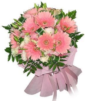 Mersin çiçek satışı  Karisik mevsim çiçeklerinden demet