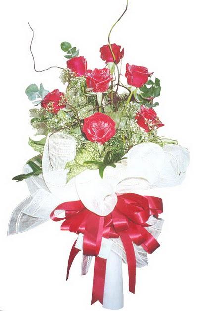 Mersin online çiçekçi , çiçek siparişi  7 adet kirmizi gül buketi