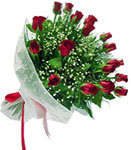 Mersin çiçek yolla , çiçek gönder , çiçekçi   11 adet kirmizi gül buketi sade ve hos sevenler