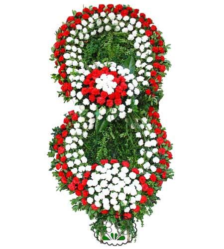 Görsel Cenaze çiçek , cenaze çiçek , çelengi  Mersin çiçek , çiçekçi , çiçekçilik