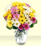 Mersin çiçek gönderme sitemiz güvenlidir  mevsim çiçekleri mika yada cam vazo