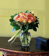 Mersin online çiçekçi , çiçek siparişi  11 adet renkli güller cam yada mika vazo tanzim