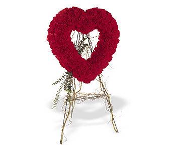 Mersin çiçek yolla , çiçek gönder , çiçekçi   karanfillerden kalp pano