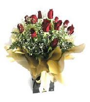Mersin çiçek gönderme sitemiz güvenlidir  11 adet kirmizi gül  buketi