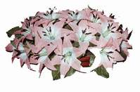 yapay karisik çiçek sepeti   Mersin yurtiçi ve yurtdışı çiçek siparişi
