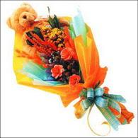 ayicik gül ve kir çiçekleri   Mersin yurtiçi ve yurtdışı çiçek siparişi
