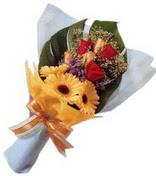 güller ve gerbera çiçekleri   Mersin 14 şubat sevgililer günü çiçek
