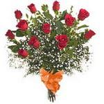 bir düzine kirmizi gül buketi   Mersin 14 şubat sevgililer günü çiçek