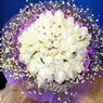 71 adet beyaz gül buketi   Mersin çiçek mağazası , çiçekçi adresleri