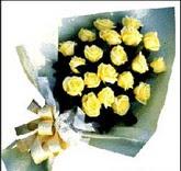 sari güllerden sade buket  Mersin çiçek mağazası , çiçekçi adresleri