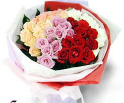 SEVENLERE ÖZEL 51 ADET GÜL  Mersin çiçek yolla , çiçek gönder , çiçekçi