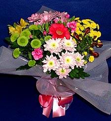Mersin güvenli kaliteli hızlı çiçek  küçük karisik mevsim demeti