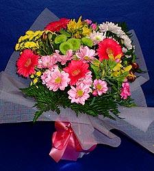 karisik sade mevsim demetligi   Mersin ucuz çiçek gönder