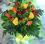 13 adet karisik gül buketi demeti   Mersin çiçek , çiçekçi , çiçekçilik