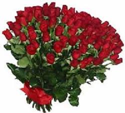 51 adet kirmizi gül buketi  Mersin İnternetten çiçek siparişi