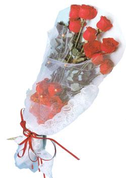 11 adet kirmizi güller buket tanzimi   Mersin online çiçekçi , çiçek siparişi