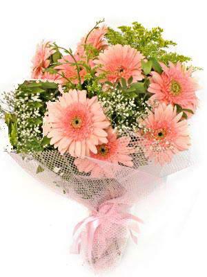 Mersin çiçek servisi , çiçekçi adresleri  11 adet gerbera çiçegi buketi