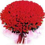 Mersin cicek , cicekci  1001 adet kirmizi gülden çiçek tanzimi