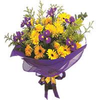 Mersin 14 şubat sevgililer günü çiçek  Karisik mevsim demeti karisik çiçekler