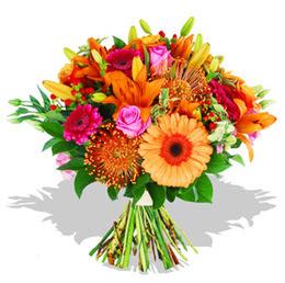 Mersin çiçek online çiçek siparişi  Karisik kir çiçeklerinden görsel demet