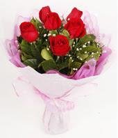 9 adet kaliteli görsel kirmizi gül  Mersin hediye sevgilime hediye çiçek