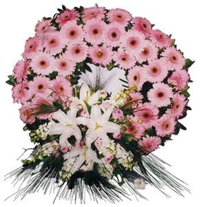 Cenaze çelengi cenaze çiçekleri  Mersin çiçek yolla