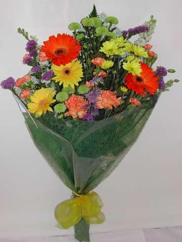 karisik kir çiçek buketi çiçek gönderimi  Mersin çiçek satışı