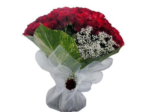 25 adet kirmizi gül görsel çiçek modeli  Mersin internetten çiçek satışı