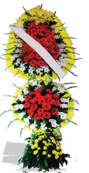 Dügün nikah açilis çiçekleri sepet modeli  Mersin anneler günü çiçek yolla