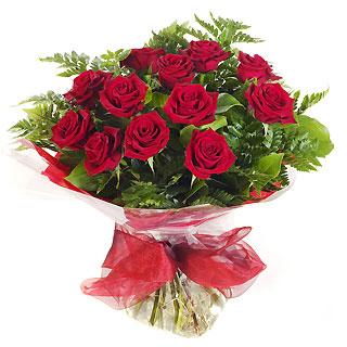 Ucuz Çiçek siparisi 11 kirmizi gül buketi  Mersin çiçek siparişi sitesi