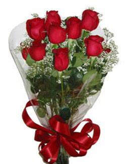 Çiçek sade gül buketi 7 güllü buket  Mersin çiçek gönderme