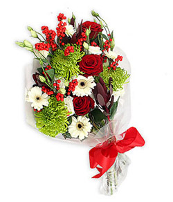 Karisik mevsim buketi çiçek tanzimi  Mersin çiçek gönderme sitemiz güvenlidir