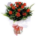 Mersin çiçek mağazası , çiçekçi adresleri  9 adet güzel bir gül buketi
