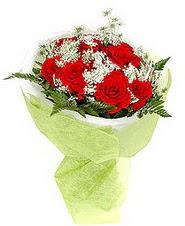 Mersin çiçek mağazası , çiçekçi adresleri  7 adet kirmizi gül buketi tanzimi