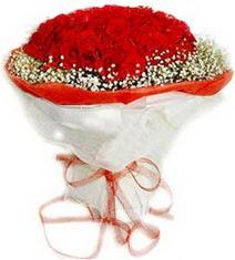 Mersin İnternetten çiçek siparişi  41 adet kirmizi gül buketi