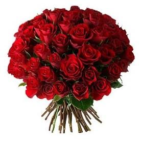 Mersin çiçek mağazası , çiçekçi adresleri  33 adet kırmızı gül buketi