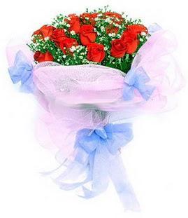 Mersin online çiçekçi , çiçek siparişi  11 adet kırmızı güllerden buket modeli