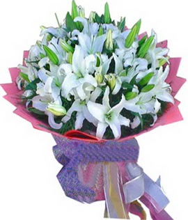 7 dal cazablanca görsel buketi  Mersin yurtiçi ve yurtdışı çiçek siparişi