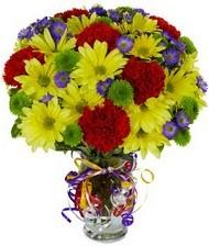 En güzel hediye karışık mevsim çiçeği  Mersin güvenli kaliteli hızlı çiçek