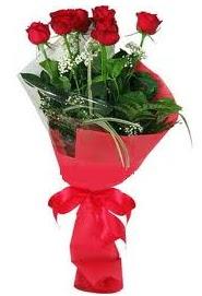 Çiçek yolla sitesinden 7 adet kırmızı gül  Mersin çiçek yolla , çiçek gönder , çiçekçi