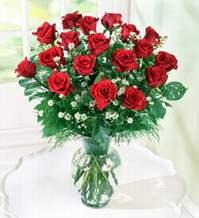 Mersin çiçek yolla , çiçek gönder , çiçekçi   9 adet mika yada vazoda kirmizi güller