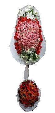 çift katlı düğün açılış sepeti  Mersin çiçek yolla , çiçek gönder , çiçekçi
