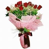 Mersin online çiçekçi , çiçek siparişi  12 adet kirmizi kalite gül
