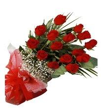 15 kırmızı gül buketi sevgiliye özel  Mersin 14 şubat sevgililer günü çiçek