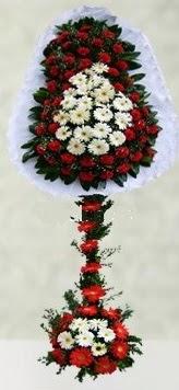 Mersin çiçek yolla , çiçek gönder , çiçekçi   çift katlı düğün açılış çiçeği