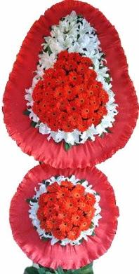 Mersin çiçek gönderme  Çift katlı kaliteli düğün açılış sepeti