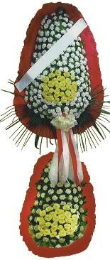Çift katlı düğün açılış çiçeği  Mersin internetten çiçek satışı