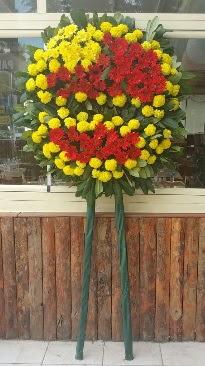 Cenaze çelengi çiçek modeli  Mersin çiçekçiler