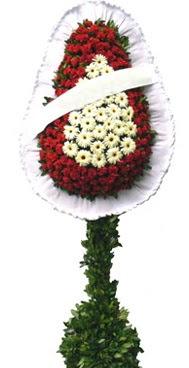 Çift katlı düğün nikah açılış çiçek modeli  Mersin uluslararası çiçek gönderme