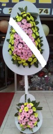 Çift katlı düğün nikah açılış çiçeği  Mersin hediye çiçek yolla